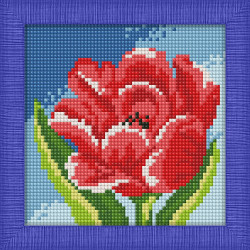 Diamond painting kit Tulips AZ-1131