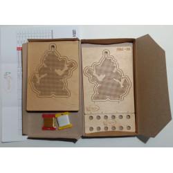 siuvinėjimo rinkinys Širdelė S6206