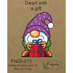 Cross Stitch Kit 11x11 S7514