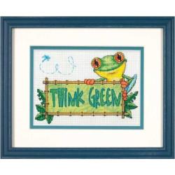 Cross Stitch Kit 17x20,5 S9740
