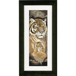 Diamond painting kit Spirit of the Wolf AZ-3021