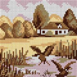 Dekoratyvinės lėlės siuvimo rinkinys AM100011I
