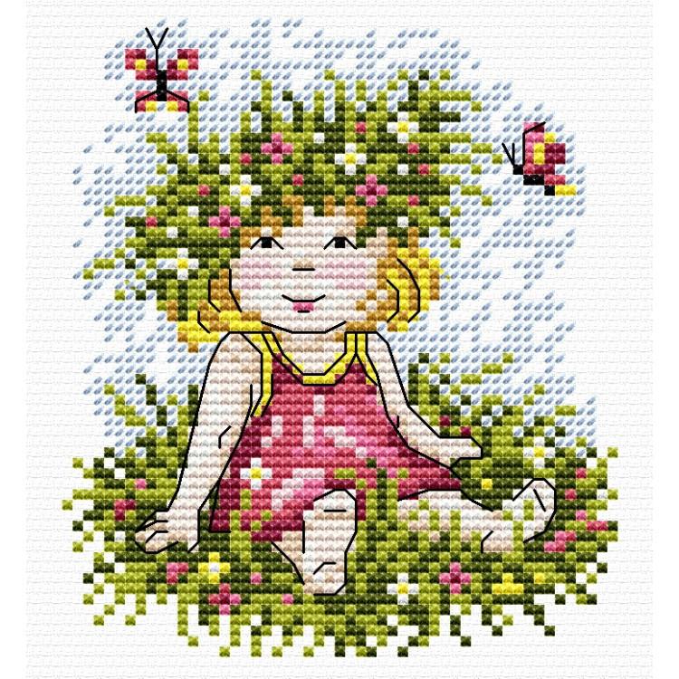 Įrėmintas veidrodis 8526JBXG 7*7