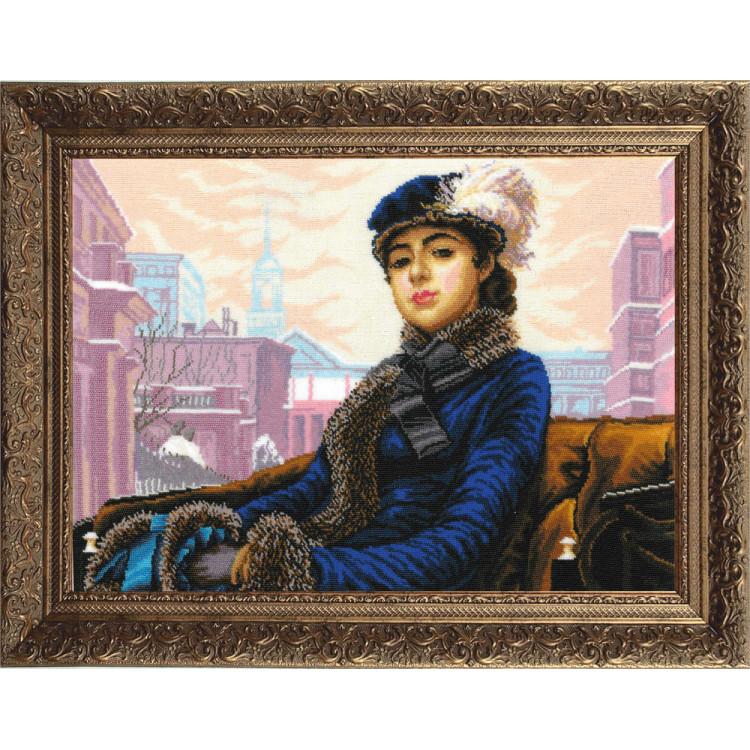 Dekoratyvinės lėlės siuvimo rinkinys AM100026I