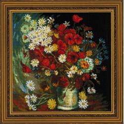 Medvilniniai siuvinėjimo siūlai, 10m M017/0205
