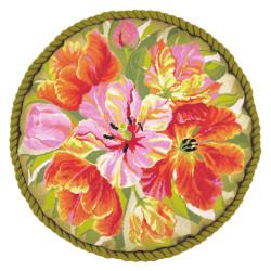 Medvilniniai siuvinėjimo siūlai, 10m M017/0412