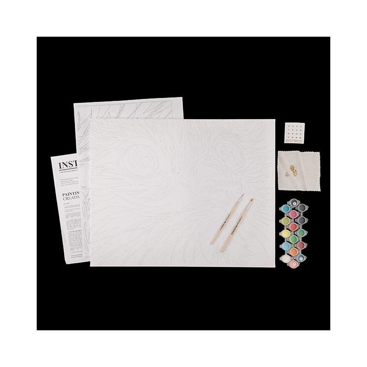 WIZARDI 3D modeliai iš popieriaus PP-1LTV-BLA