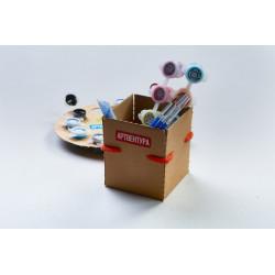 Wizardi 3D Papercraft Kit Elephant PP-1SLV-GRA