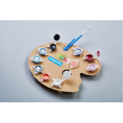 Wizardi 3D Papercraft Kit Lion PP-1LVN-2BG