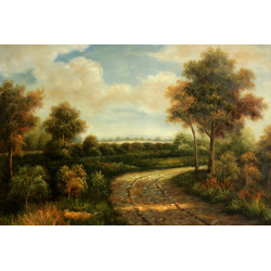 Sunflowers in Vase WD2334