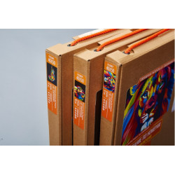 Kitten with Gift WD2367