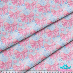 (Discontinued) Birth Sampler with Bear (Boy) S576