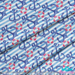 Sampler with bed (boy) S622