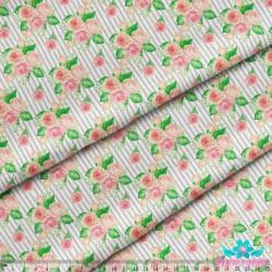 Rabbit with Tulips S715