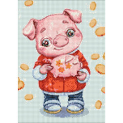 Santa with Wreath SK133