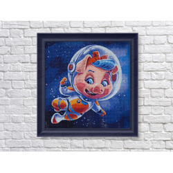 Pansies and Butterfly SK153