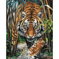 Designer canvas Aida 14 30x40 cm SKD14-026
