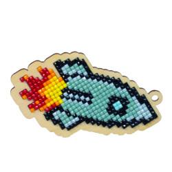 Mouse and Christmas Stocking AZ-1812