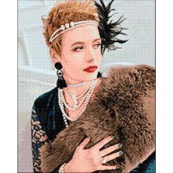 Wizardi Painting by Numbers Kit Evening Harbour 40x50 cm A090