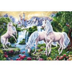 (Discontinued) Wizardi Painting by Numbers Kit Italian Still Life 40x50 cm B003