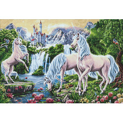 Wizardi Painting by Numbers Kit Poppies on the Windowsill 40x50 cm B025