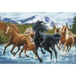 Wizardi Painting by Numbers Kit Street Musicians 40x50 cm J018
