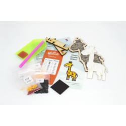 Wizardi 3D Papercraft Kit Toucan PP-2TUK-BWS
