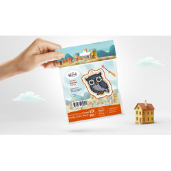 Wizardi 3D Papercraft Kit Cat PP-2KBA-2GR