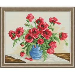 "Картина стразами ""Пальмы на закате"" AZ-1090"