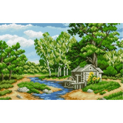 Diamond Painting Kit Sailboat at Sunset AZ-1092