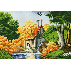 Картина стразами Букет полевых цветов AZ-1097