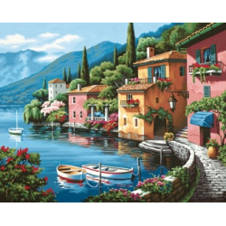 (Discontinued) Diamond Painting Kit Venice AZ-110