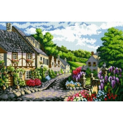 Diamond painting kit Cat in the Garden AZ-1101