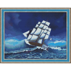 Diamond painting kit Lilac AZ-112