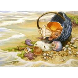 Картина стразами «Невеста моряка» AZ-1122