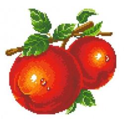 Картина стразами «Розовый ирис» AZ-1125