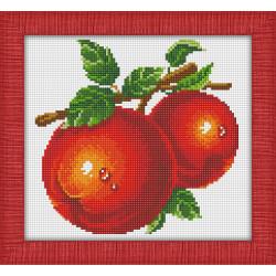 Картина стразами «Цветной букет» AZ-1126