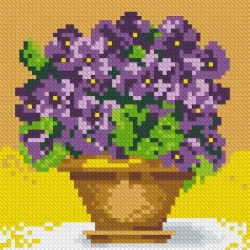 (Discontinued) Diamond painting kit Still Life Sunflowers AZ-1134