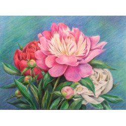 (Discontinued) Diamond painting kit Violin and the Globe AZ-1186