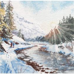 Красочная Венеция 40x50 cm C040