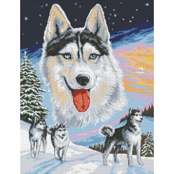 (Discontinued) Diamond painting kit Butterfly on the Flower AZ-1205