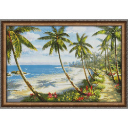 (Discontinued) Diamond painting kit Fresh Bouquet AZ-1210