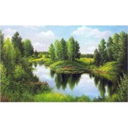 (Discontinued) Diamond painting kit Coffee Bow AZ-1233