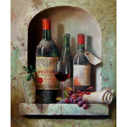 (Discontinued) Diamond Painting Kit Autumn Landscape AZ-407