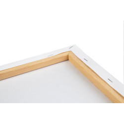 Wizardi painting by number kit. White sail 40x50 cm A143T