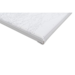 Wizardi painting by number kit. Winter over the Window 40x50 cm T031