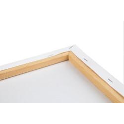 Wizardi painting by number kit. Rainbow Giraffe 40x50 cm T123