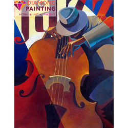 (Discontinued) Diamond painting kit Yellow Rose AZ-18