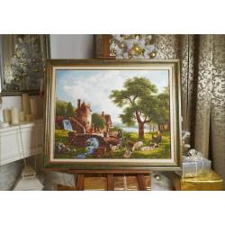 AEROFIL N120; sew thread M9124/8420