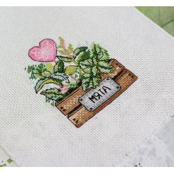 AEROFIL N120; sew thread M9124/8761